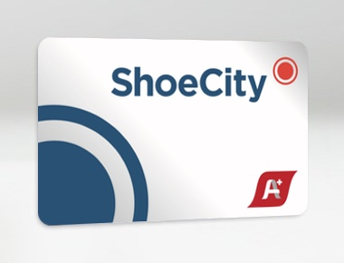 Shoe City card